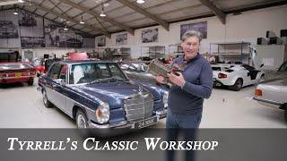 Mercedes-Benz 300 SEL 6.3, Lamborghini Miura S, Workshop Catchup Part 1 | Tyrrell's Classic Workshop