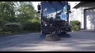 CleaNGo : la balayeuse convertie au GNV par le CRMT