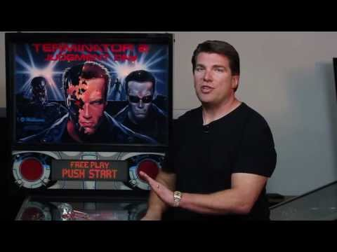 FarSight Studio's Pinball Arcade dedicated to preserving pinball history with terminator 2