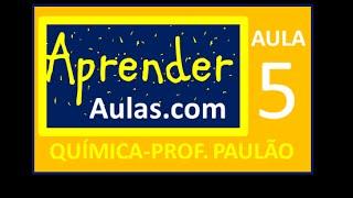 QU�MICA - AULA 5 - PARTE 1 - ATOM�STICA: GEOMETRIA MOLECULAR