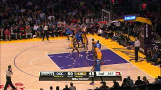 Russell Westbrook vs Lakers (Full Highlights) [11.01.2013]
