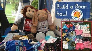 Kayla and Mylo's Build a Bear haul | Summer edition