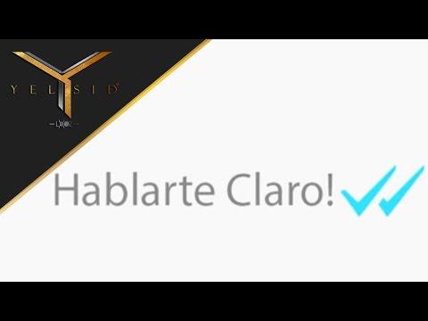 Yelsid - Hablarte Claro   Vídeo Lyric