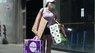 Panic buying of toilet paper hits U.S. stores again