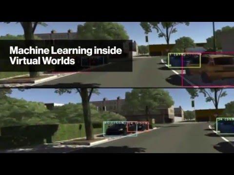 Machine Learning inside Virtual Worlds