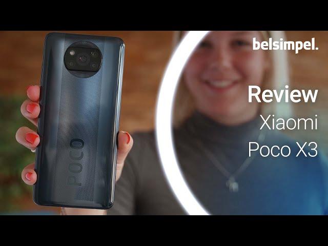 Belsimpel-productvideo voor de Xiaomi Poco X3