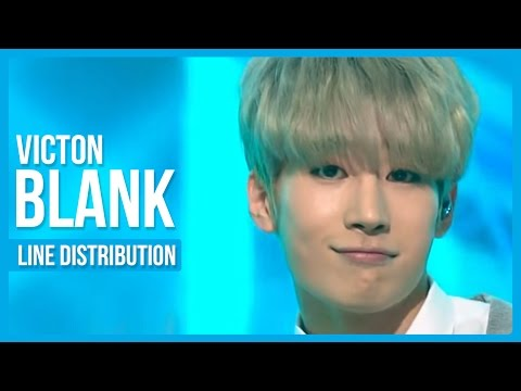 VICTON - Blank Line Distribution (Color Coded)