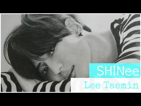 Drawing Lee Taemin from SHINee