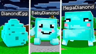 How to Tame a Pet DIAMOND in Minecraft!