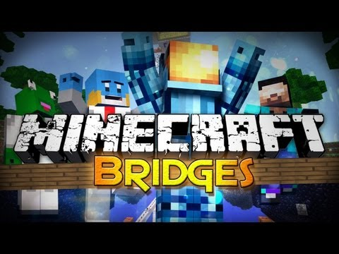 Minecraft: Bridges - The Walls   Skyblock Survival! (Mini-Game) - Smashpipe Games