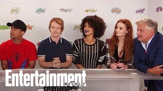Game Of Thrones: Sophie Turner Explains That Sibling Rivalry   SDCC 2017   Entertainment Weekly