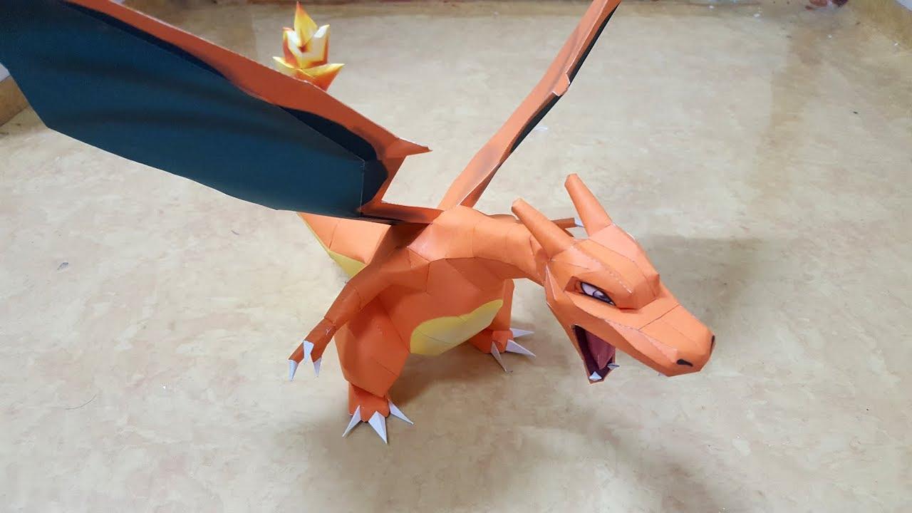 Papercraft Pokemon Charizard Easy Pokemon Papercraft Mudkip ... | 720x1280