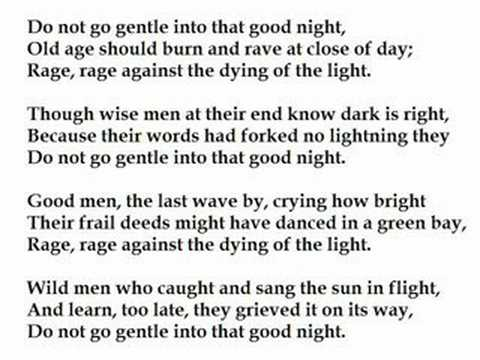 do not go gentle into that good night essay  essays on do not go gentle into the good night