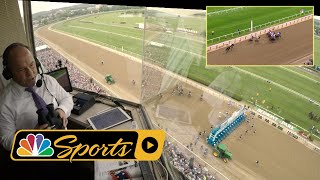 Belmont Stakes 2018: Justify's Triple Crown win from Larry Collmus' POV I NBC Sports