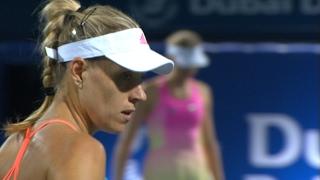 Highlights: WTA R2 - Kerber d. Barthel