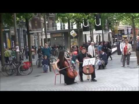 Flashmob The Lord of the Dance