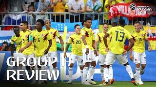 Colombia and Japan progress - Group H Review!