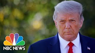 President Trump Flown To Walter Reed Medical Center For Observation | NBC News