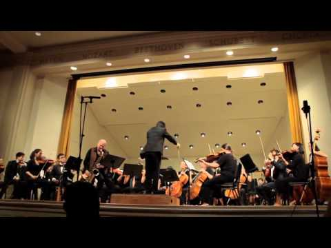 Lewis Porter's Sax Concerto for Dave Liebman, 2 of 3: In Memoriam Corinne Mond  (1952-2011)