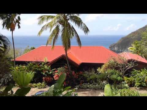 Ancienne maison de Coluche à Deshaies - Guadeloupe