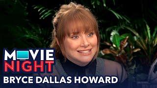 Movie Night: Bryce Dallas Howard from Jurassic World Fallen Kingdom
