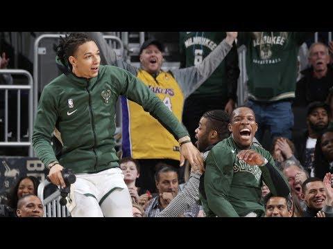 Highlights: Bucks 151 - Wizards 131 | 1.28.20