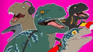 ♪ JURASSIC WORLD FALLEN KINGDOM THE MUSICAL REMIX - Animated Song