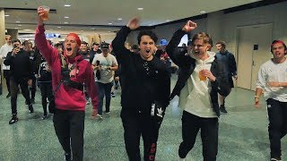 WE CAUSED A RIOT (SECURITY CALLED!)