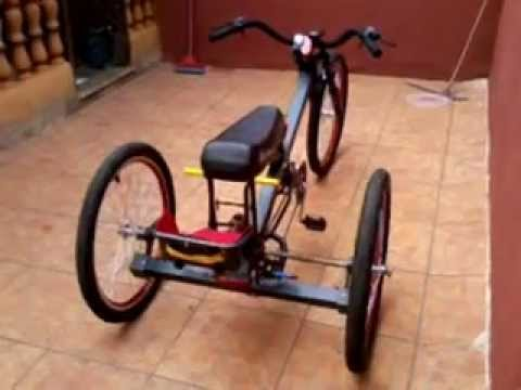 Antique Tricycle 1960 Triciclo Antiguo Old Antique