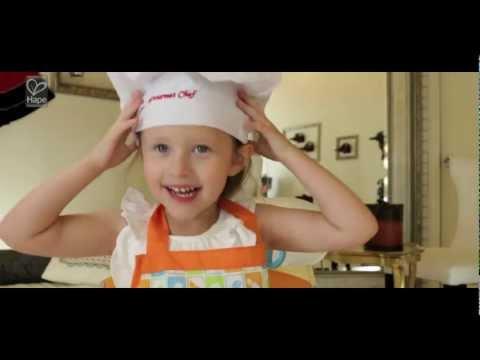 Hape Gourmet Kitchen, Hape Gourmet Fridge, Gourmet Kitchen Starter Set