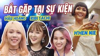 Bắt gặp Hậu Hoàng, Ribi Sachi, H'Hen Nie... tại sự kiện & gửi lời chào đến Schannel