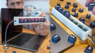 This keyboard can only type your passwords