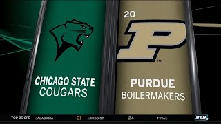 Chicago State at Purdue - Men's Basketball Highlights