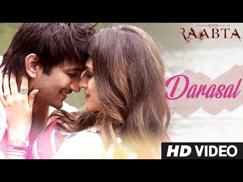 Atif Aslam : Darasal Video Song - Raabta - Sushant Singh Rajput & Kriti Sanon
