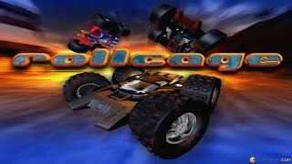 Rollcage gameplay (PC Game, 1999)