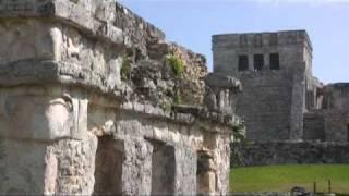 Caminata en las ruinas de tulum