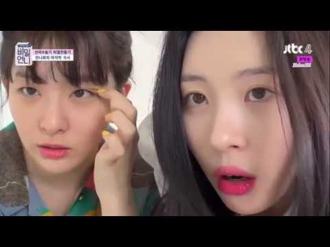 [ENG] 180615 Sunmi x Seulgi Playing with Camera - Secret Unnie EP07 Clips
