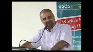 eNlight Cloud Launch by Kris Srikkanth at ESDS Data Center