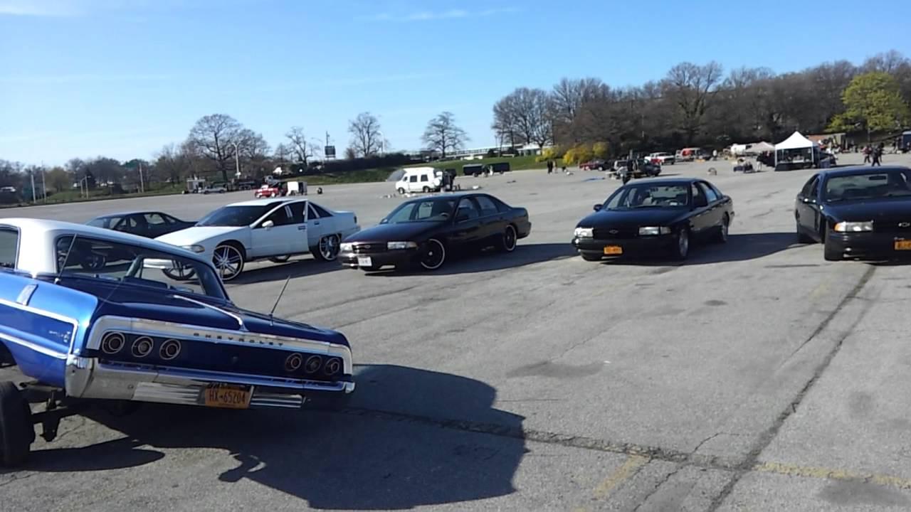 Belmont Racetrack Car Show