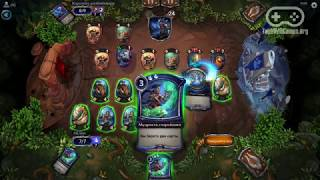 Геймплей карточной онлайн игры Eternal / Этернал