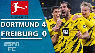 Erling Haaland & Gio Reyna PUT ON A SHOW as Borussia Dortmund sizzle | ESPN FC Bundesliga Highlights