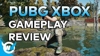 PUBG XBOX ONE X: GAMEPLAY AND FIRST REVIEW - Battlegrounds Highlights