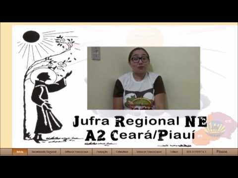 Felicitação do Regional NE A2 Ceará e Piauí para todos os Jufristas em alusão a Páscoa em Fraternidade