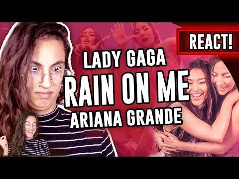 REACT: Lady Gaga, Ariana Grande - Rain On Me | Luma ShoW