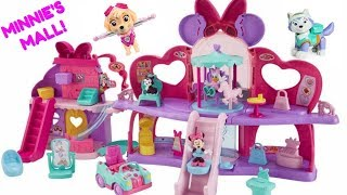 Minnie Mouse Fabulous Shopping Mall Paw Patrol