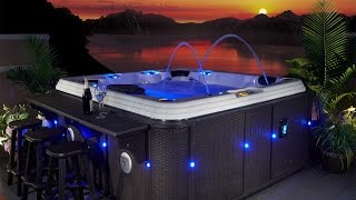 Evolution Spas Casablanca EX 110 Hot Tub Video