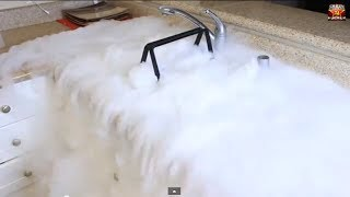 2 Pounds of Dry Ice Experiment