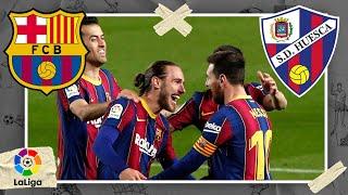 Barcelona vs Huesca | LALIGA HIGHLIGHTS | 3/15/2021 | beIN SPORTS USA