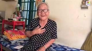 Tìm đến nhà để san sẻ yêu thương với cụ bà 89 tuổi cô độc bán vé số