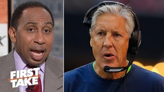Stephen A.'s message to Pete Carroll: You're not Bill Belichick, know your place! | First Take